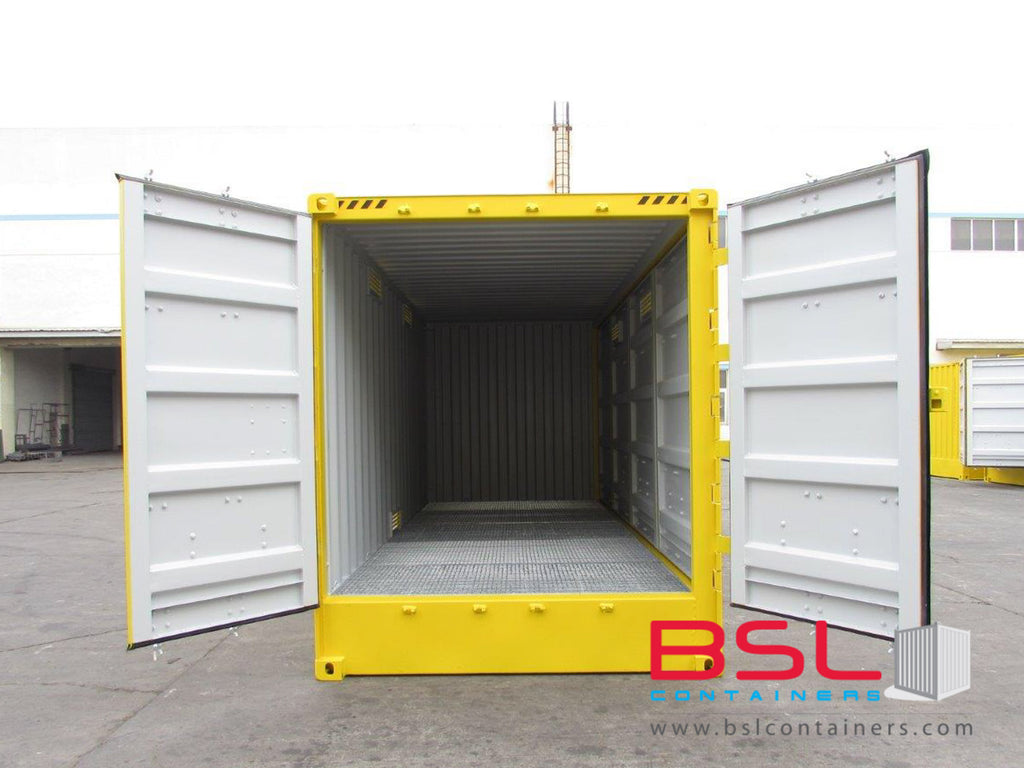 20'HC ISO New Build Full Side Opening Hazardous Containers FOB China CY (20'HCOSDG) - eSHOP - BSL CONTAINERS