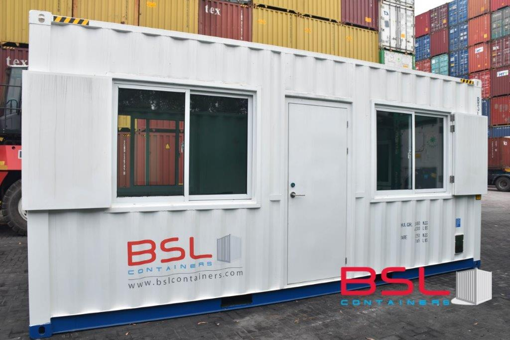 20'HC Office Container available for Sale in Pasir Gudang - eSHOP - BSL CONTAINERS