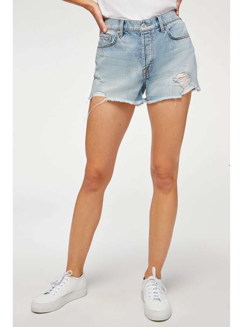 Monroe Distressed Cut-Off Short - Cosmic
