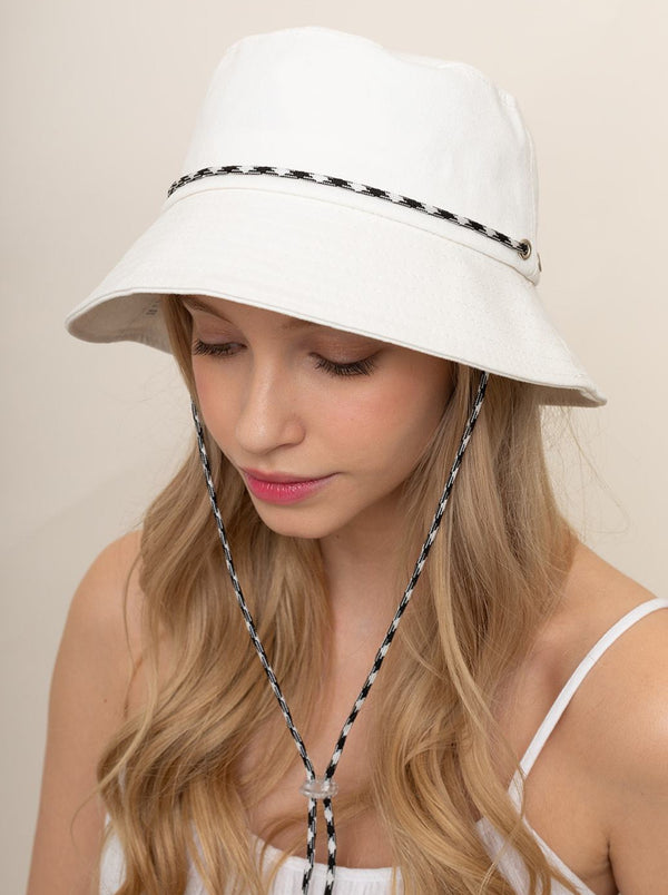 Bucket Hat With Chin Strap