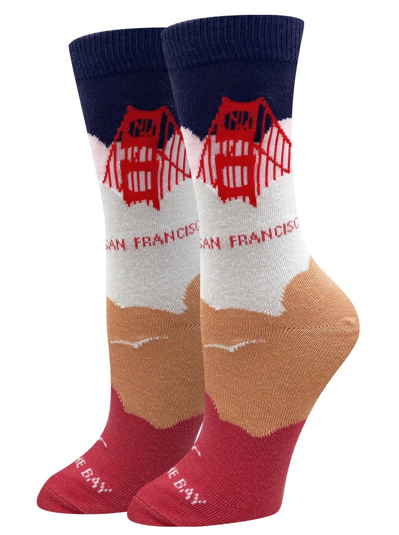 Foggy SF Crew Sock