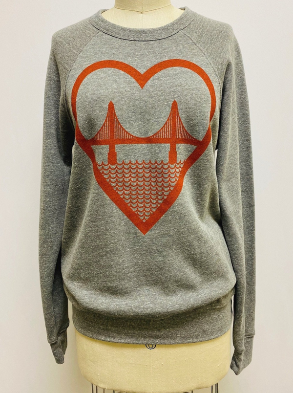 I Heart SF Unisex Sweatshirt
