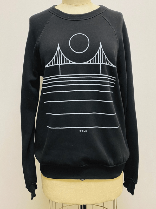 Minimal Bridge Unisex Sweatshirt
