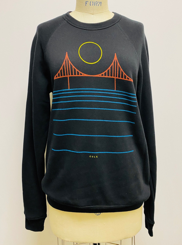 Minimal Bridge Rainbow Unisex Sweatshirt