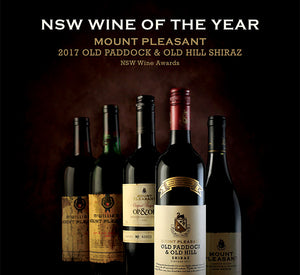 Mount Pleasant OP&OH wins NSW Wine of the Year