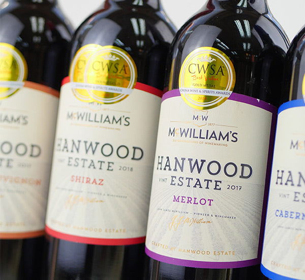 McWilliam's Wines Hanwood Estate Shiraz Named Australian Wine of the Year at the China Wine & Spirits Best Value Awards