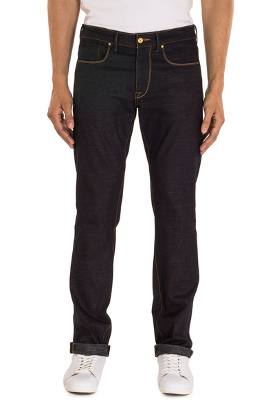 SLIM STRAIGHT Italian Selvedge Denim Midnight Indigo