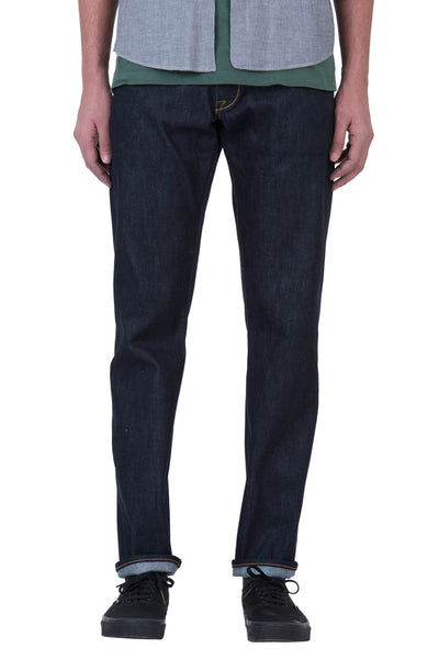 COMFORT STRAIGHT Organic Selvedge Denim Brilliant Indigo