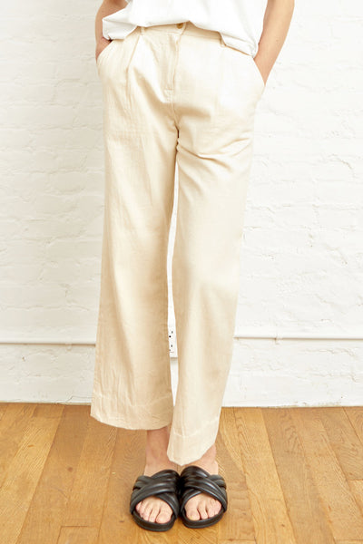 M.PATMOS X KORRA Mia Pleated Trouser