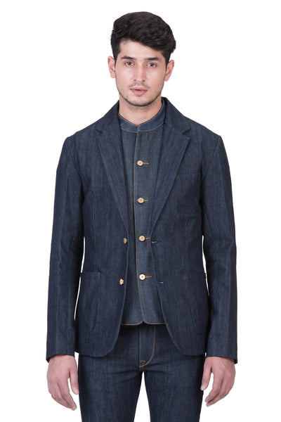 BLAZER Organic Stretch Selvedge Denim Deep Indigo