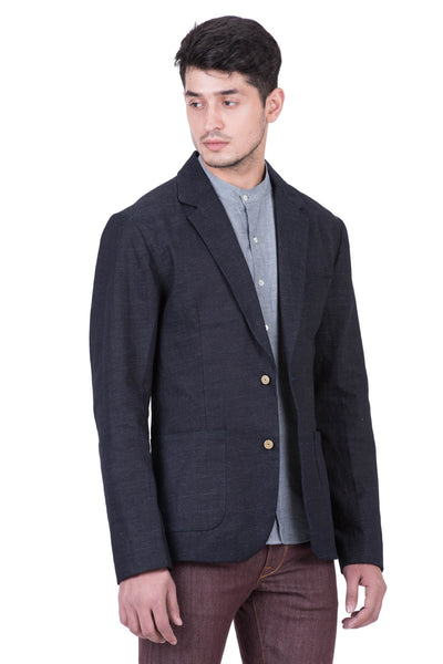 BLAZER Italian Selvedge Denim Midnight Indigo