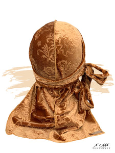 Butterscotch gold du-rag