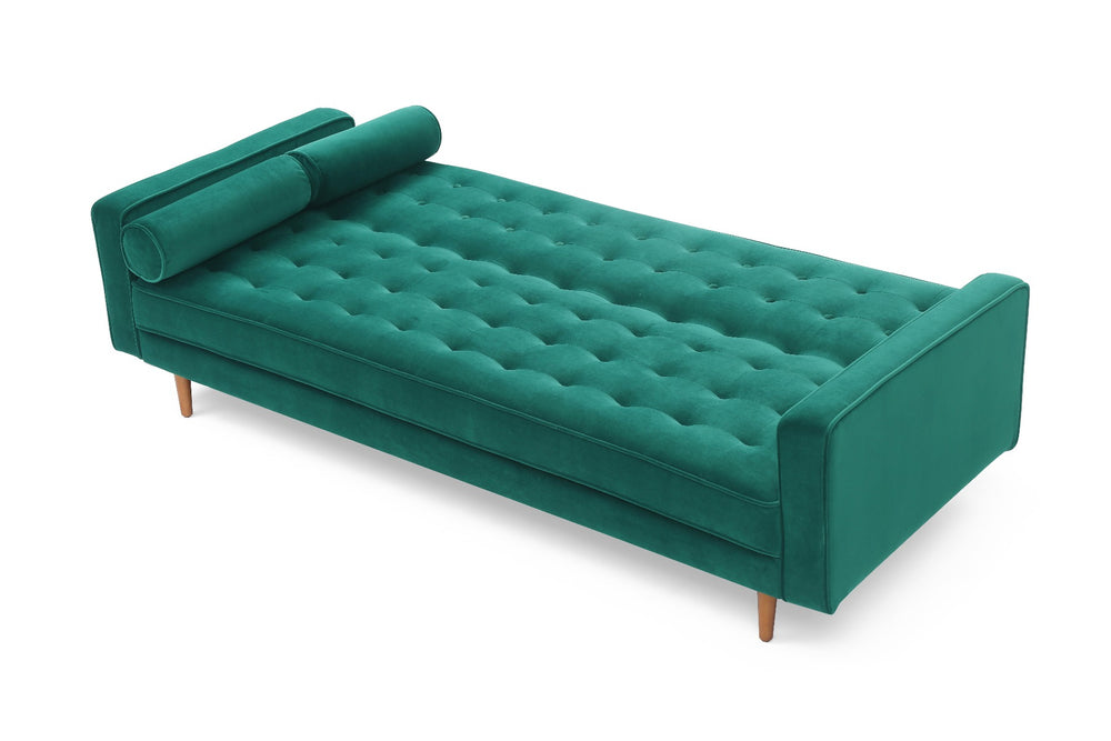 Sofa Marcella Green Velvet Fabric