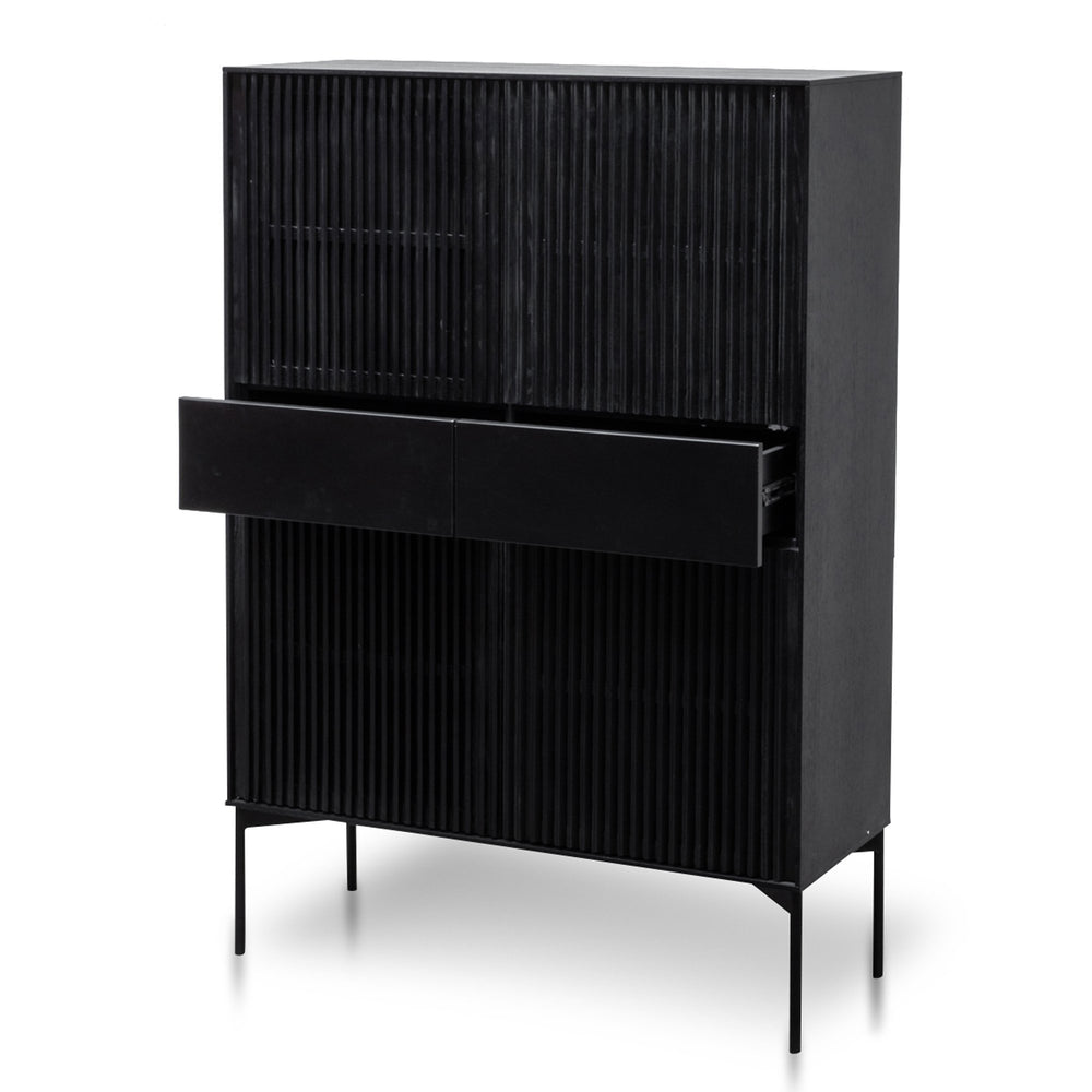 Erilyn Cabinet - Black Oak