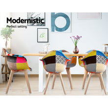 Load image into Gallery viewer, Artiss Set of 2 Fabric Dining Chairs SKU - BA-TW-M2503-66FBX2