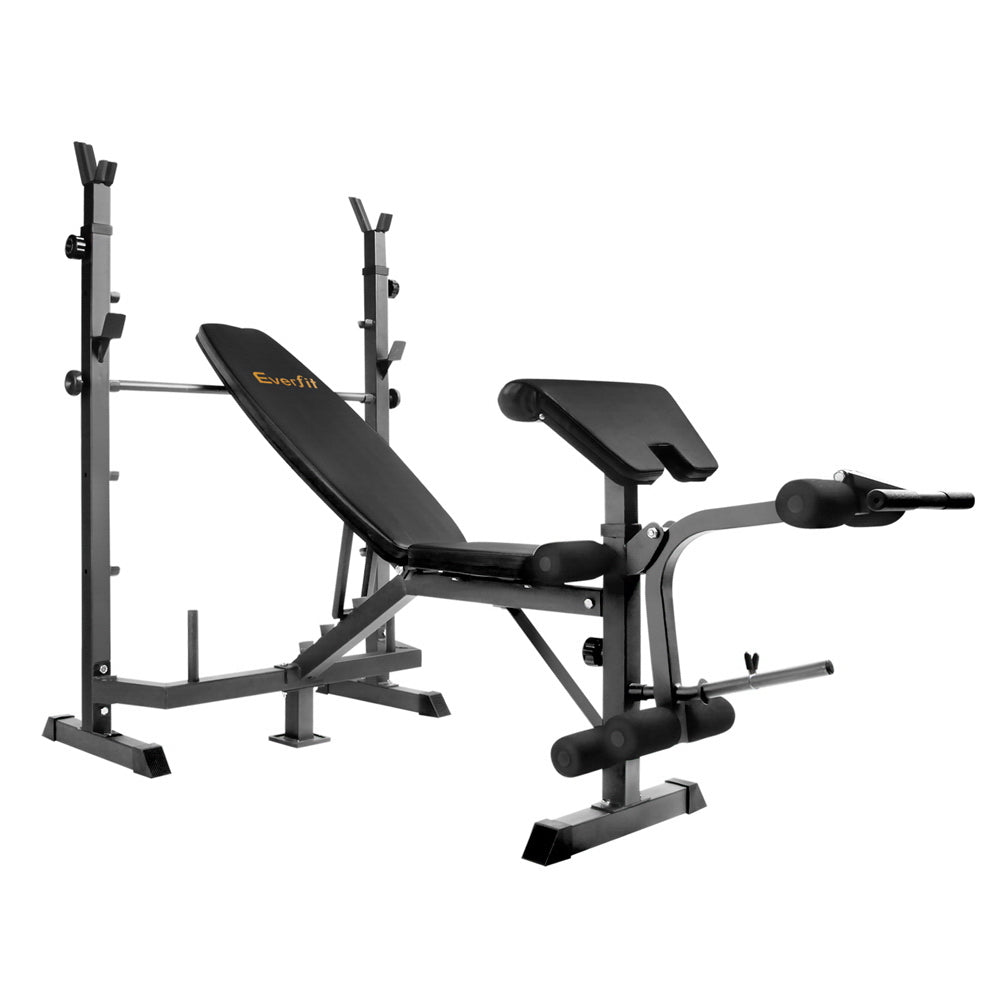 Everfit 9-In-1 Weight Bench Multi-Function Power Station Fitness Gym Equipment