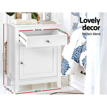 Load image into Gallery viewer, Artiss Bedside Tables Big Storage Drawers Cabinet Nightstand Lamp Chest White