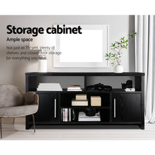 Load image into Gallery viewer, Artiss Entertainment Unit with Cabinets - Black SKU- FURNI-TV-120-BK-AB