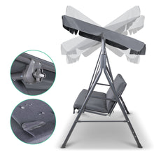 Load image into Gallery viewer, Gardeon Swing Chair with Canopy - Grey
