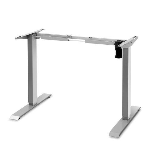 Artiss Standing Desk Sit Stand Riser Height Adjustable Motorised Frame Only Grey