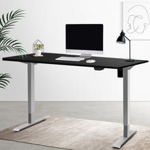 Load image into Gallery viewer, Artiss Height Adjustable Standing Desk Motorised Electric Frame Riser Laptop Computer 100cm