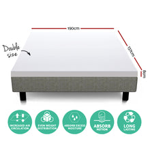 Load image into Gallery viewer, Giselle Bedding Double Size Dual Layer Cool Gel Memory Foam Topper