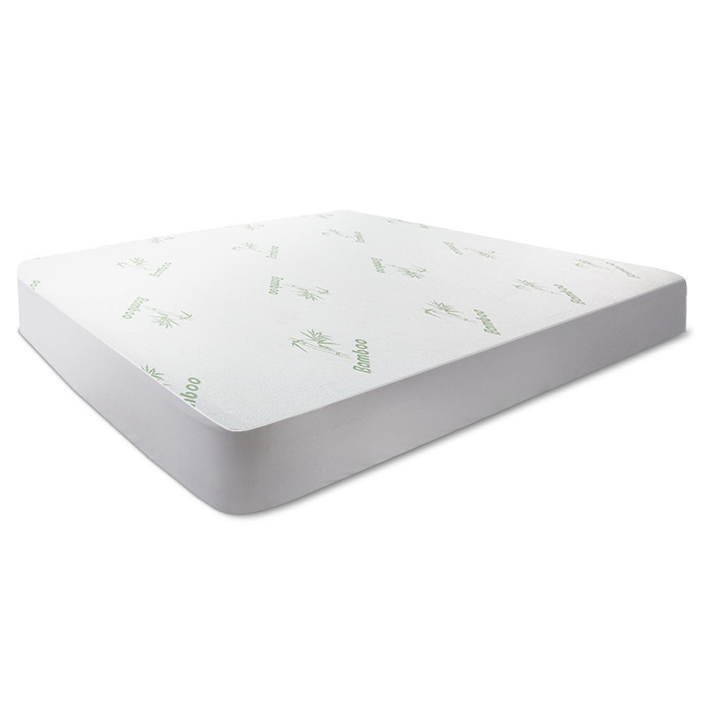 Giselle Bedding Giselle Bedding Bamboo Mattress Protector Single