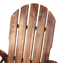 Load image into Gallery viewer, Gardeon Wagon Wheels Rocking Chair - Brown