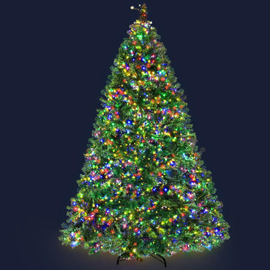 Jingle Jollys Christmas Tree LED 2.1M 7FT Xmas Decorations Green Home Decor