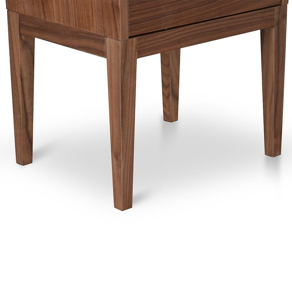 Aada Bedside Table - Walnut