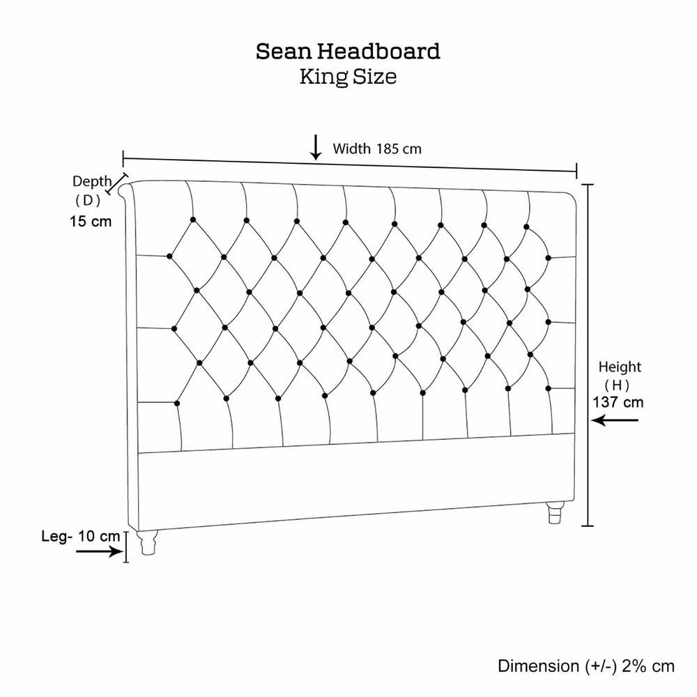 Sean Headboard King Size
