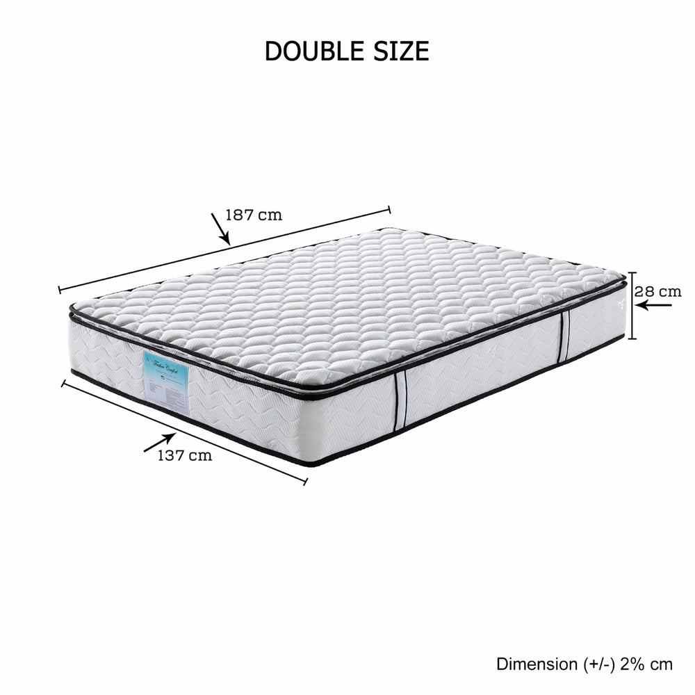 Memory Pillowtop Mattress Double