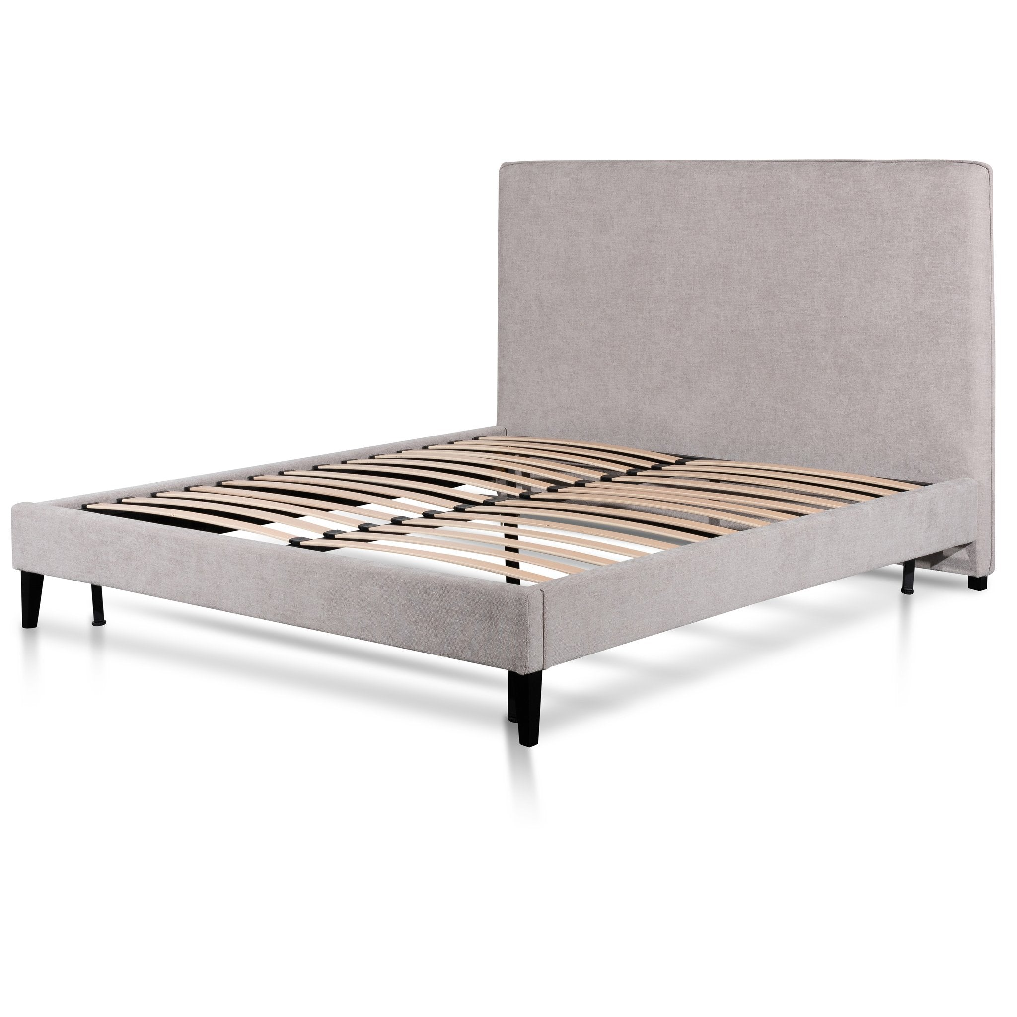 Cecelia Queen Bed Frame - Comfort Grey