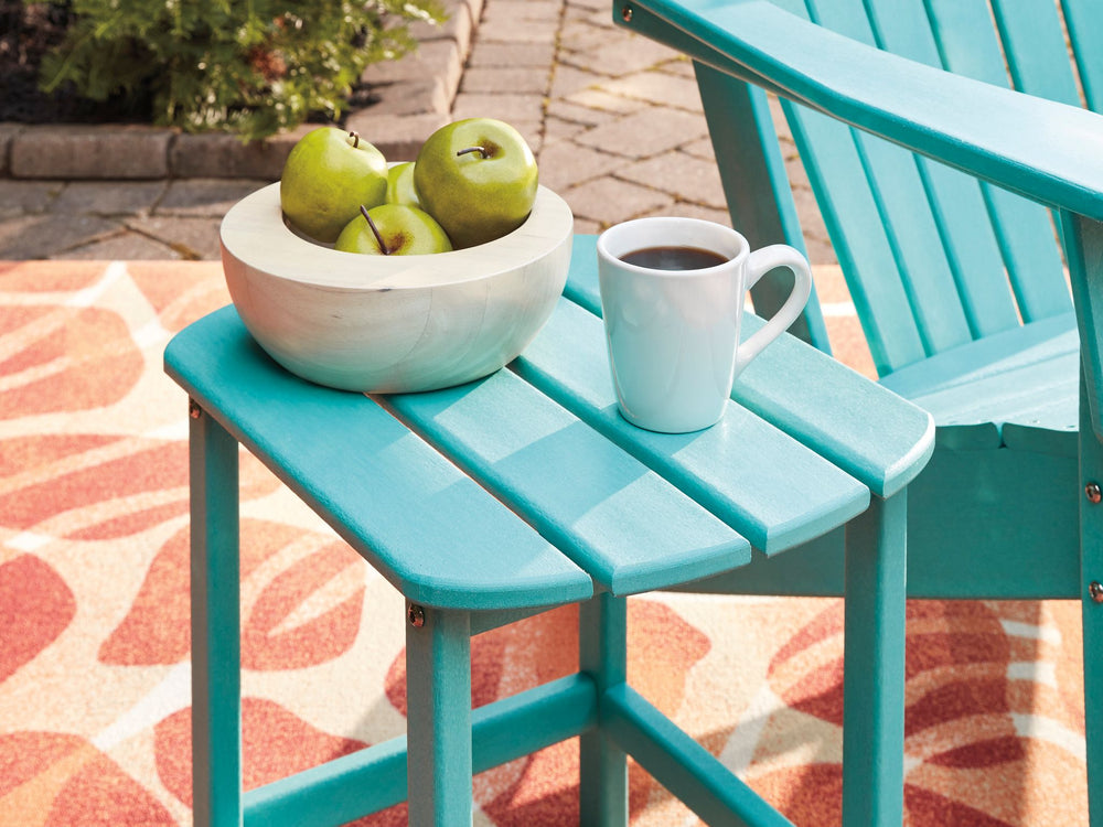 Valli Outdoor Side Table - Turquoise