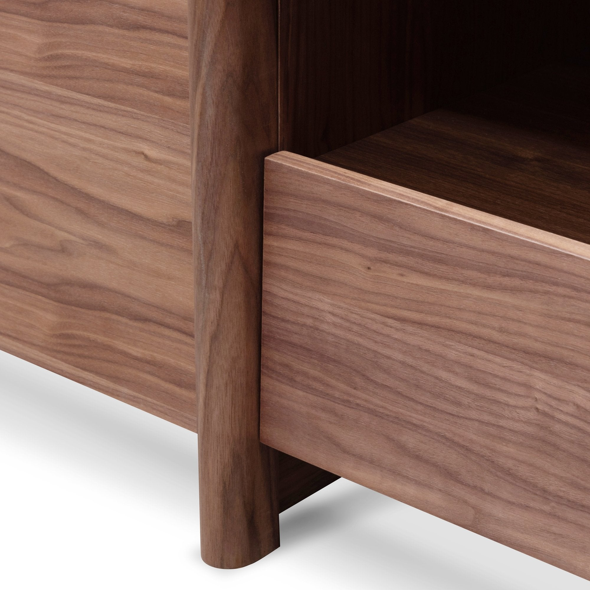 Suren Lowline 2.1m Entertainment TV Unit In Walnut