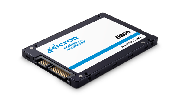 "MICRON (5200PRO) 960GB 2.5"" ENTERPRISE SSD, 540R/520W MB/s, <2 DWPD, 5YR WTY"