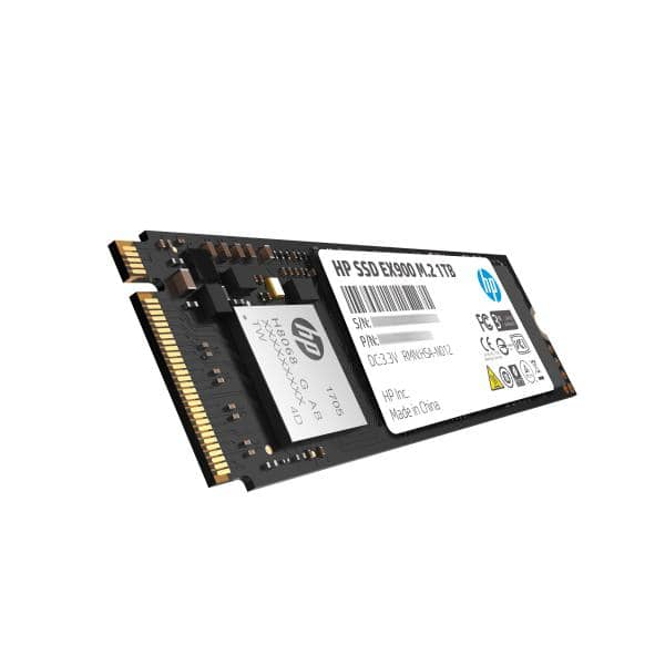 HP SSD EX900 M.2 NVMe 1TB, 3D TLC with HP Controller H8068 and 2150/1815 Max R/W - 5 Year Warranty