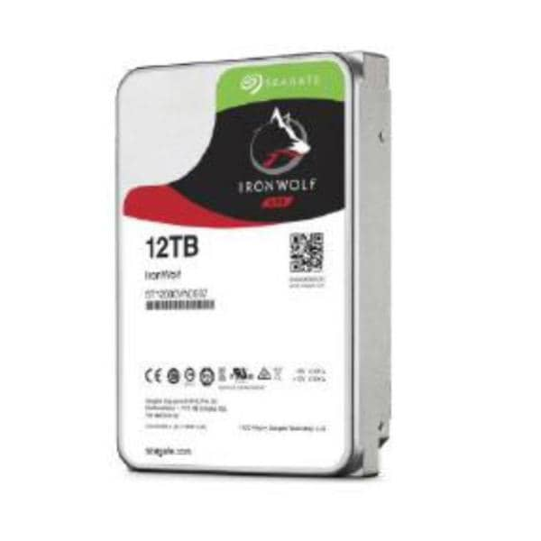 "Seagate IronWolf NAS HDD 3.5"" Internal SATA 12TB NAS HDD, 7200 RPM, 3 Year Warranty - Stock on hand only!"