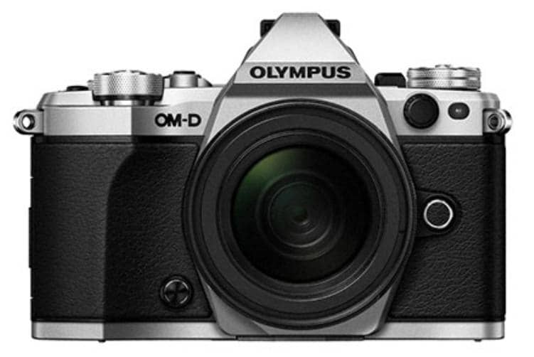 OM-D E-M5 Mark II Weather Proof Kit (EZ-M1250 lens) - Silver Body, Black Lens  -  16.1MP Micro Four Thirds Camera + 12- 50 mm Lens