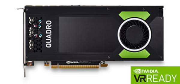 Leadtek Quadro P4000 Work Station Graphics Card PCIE 8GB DDR5, 4H( DP), Single Slot, 1x Fan, ATX