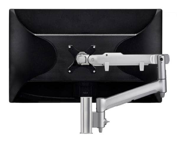 Atdec AWM Single monitor arm solution - dynamic arm - 135mm post - F Clamp - white