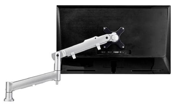 Atdec AWM Single monitor arm solution - 618mm dynamic arm - 0-9 kg - single base - F Clamp - silver