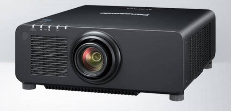 Panasonic PT-RX110BE Venue, 10400-Lumen, XGA, DLP Projector with Standard Lens