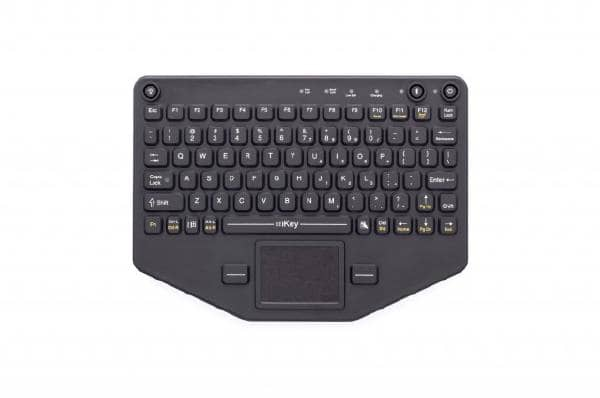 iKey BT-80-TP Rugged Bluetooth Keyboard with Touchpad (VESA Mount)