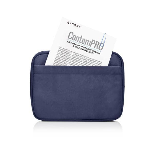 "Everki ContemPRO Laptop Sleeve w/ Memory Foam, 11.6"" Navy (EKF861NS11) - Fits Surface Pro 6 /7"