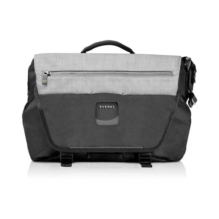 "Everki ContemPRO Laptop Bike Messenger, up to 14.1""/MacBook Pro 15 - Black (EKS660) with Dedicated Tablet/iPad/Pro/Kindle compartment up to 13"""