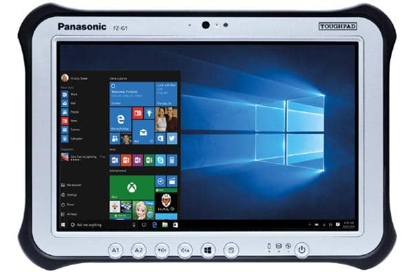 "Panasonic Toughpad FZ-G1 (10.1"") Mk5 with Serial"