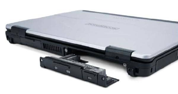 Panasonic Toughbook FZ-55 - Rear Area Selectable I/O Module : VGA, Serial, Rugged USB (Fischer Connector)