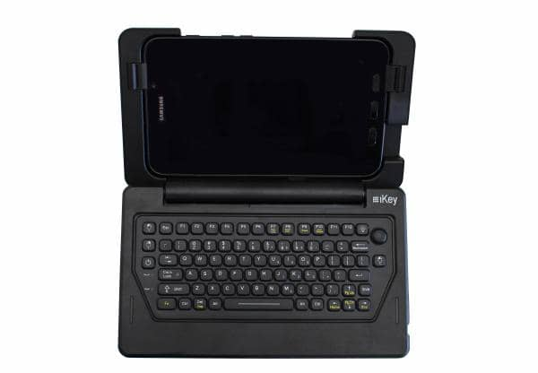 iKey IK-SAM-AT Samsung Galaxy Tab Active2 Rugged Tablet Case & Keyboard (IP54 Rated)