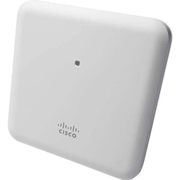 Cisco Aironet 1852 Indoor Access Point with external antenna points, Dual-band 802.11ac Wave 2 with Mobility Express Controller Software